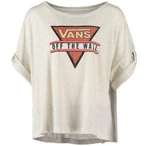 VANS Damen T shirt Print Shirt Top Oberteil