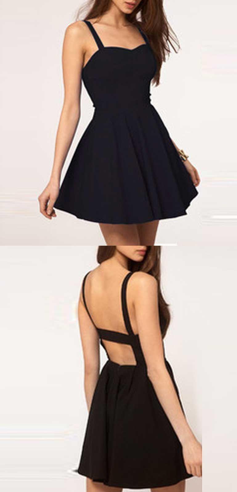 Cute Sweetheart Homecoming Dresses,satin homecoming dress,short ...