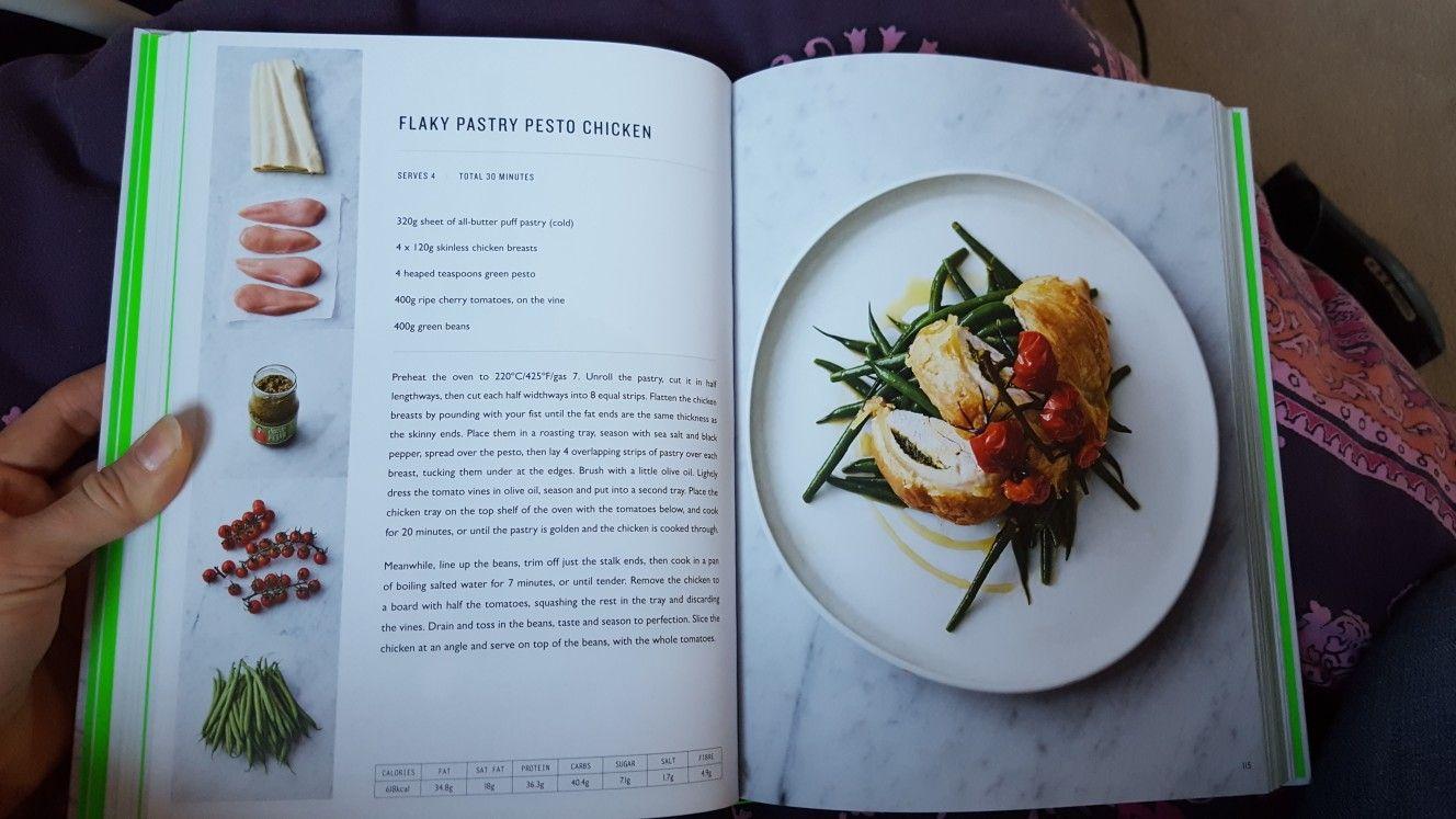 Flaky Pastry Pesto Chicken Jamie Oliver S 5 Ingredient Meals