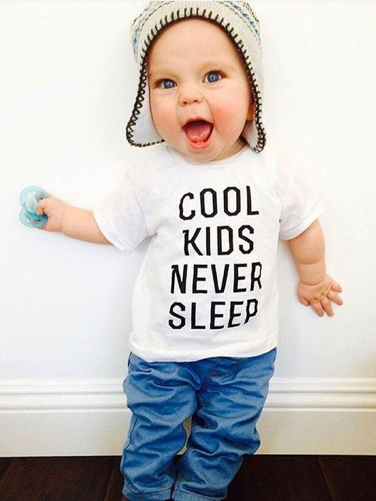 Baby & Toddler's Cool KIDS NERVER SLIP Tee Toddler Boy Shirt, Boy, Baby Boy Shirt, Kids Tank, Trendy kids clothes, Funny Kids Shirt