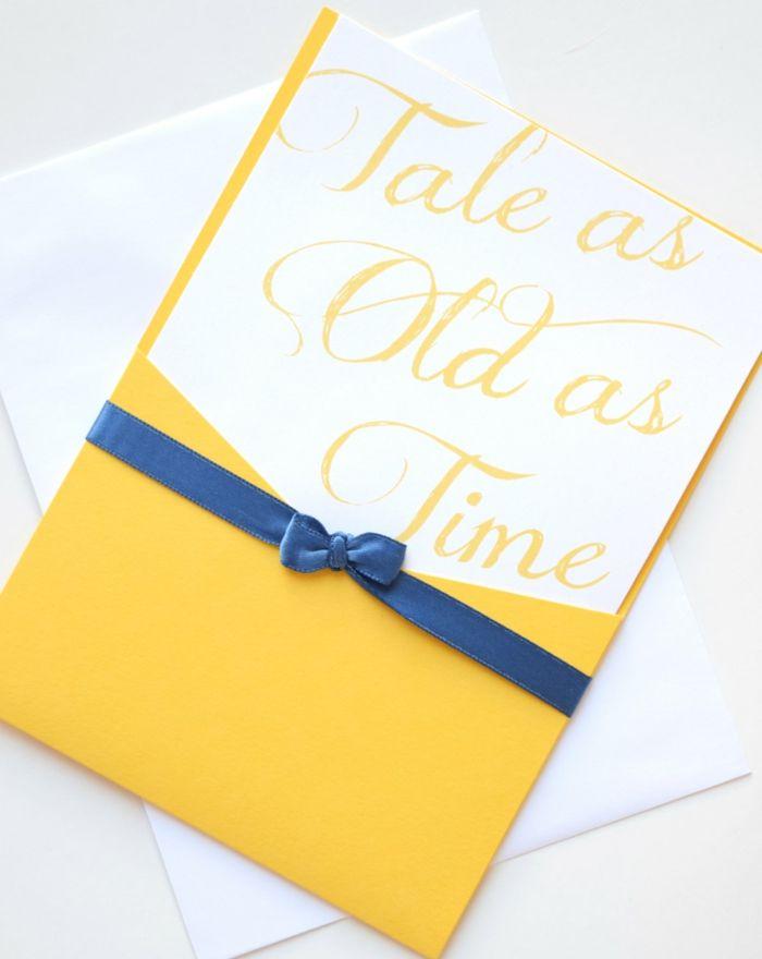 ▷ 1001 + idées pour le meilleur faire part mariage Disney