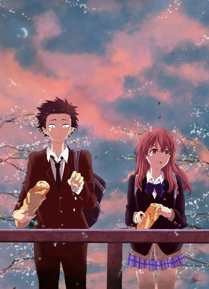 A Silent Voice cttro. Anime films, Anime, Anime movies