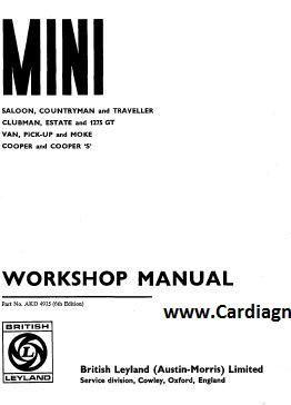 1971 mini cooper workshop manual pdf free download scr1 mini rh pinterest com leyland mini workshop manual Leyland Mini 1000