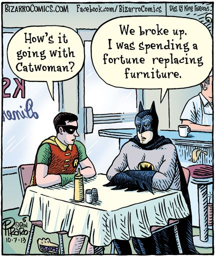 How's it going with Catwoman?