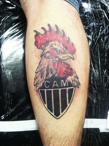 Ta Ai A Unica Tattoo Do Atletico Mineiro Galo Que Gostei Realmente De Ter Feito Fugiu Daquele Lance De Galinho Riscadin Tattoo Bh Galo Na Veia Tatuagem