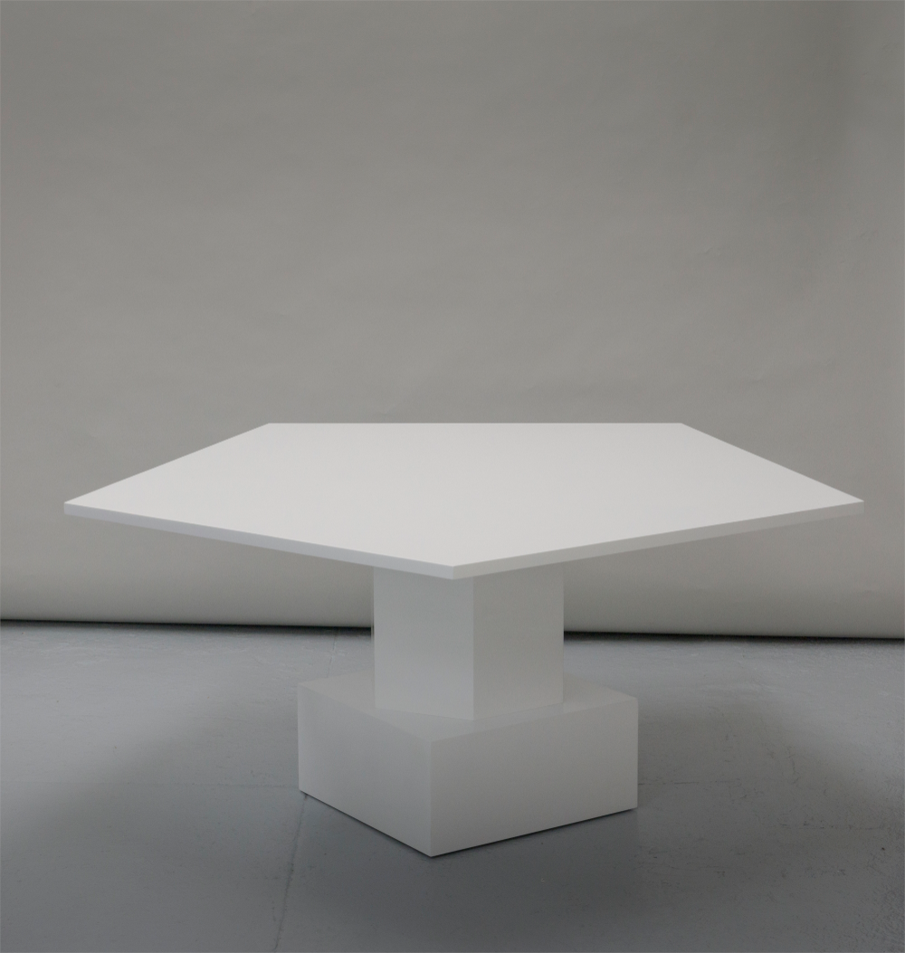 White Table By Tinatin Kilaberidze Table White Table Dining Table