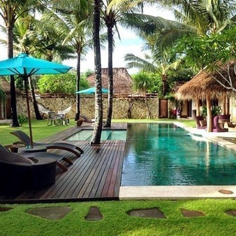 32 großartige Gartenideen für Swimmingpools 11 #backyardlandscaping