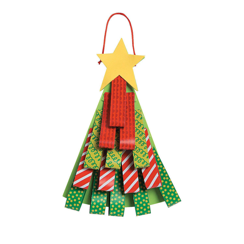 Loop Christmas Tree Sign Craft Kit Diy Christmas Tree Ornaments Diy Christmas Tree Craft Kits