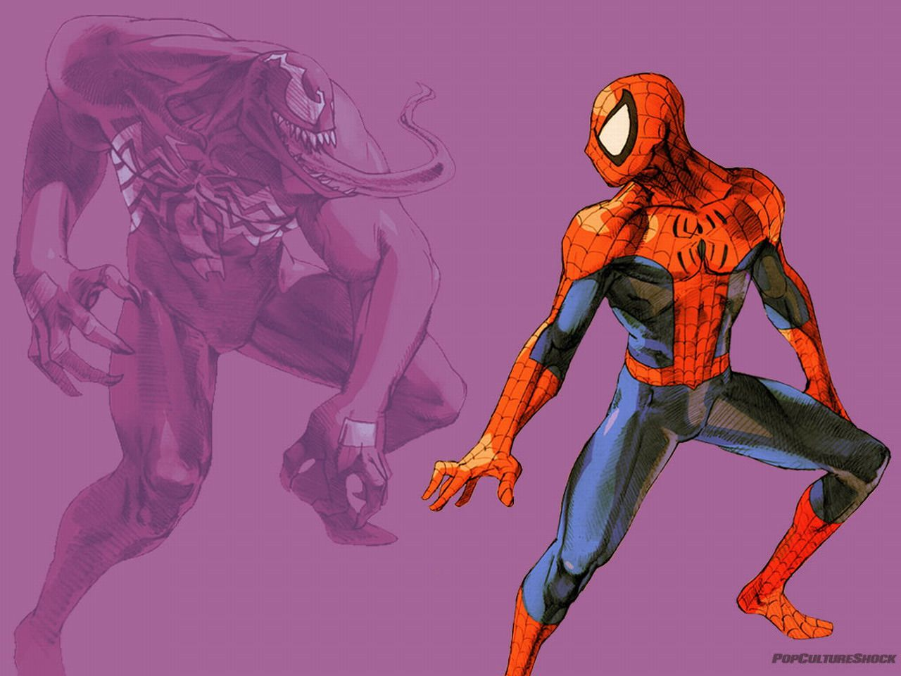 High Resolution Marvel and DC Comics Wallpaper for Mobile