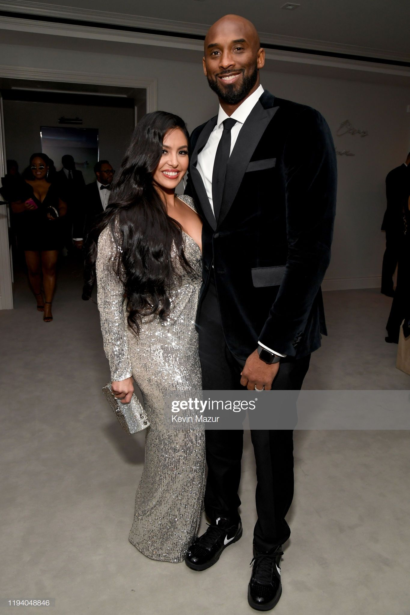 Vanessa Laine Bryant and Kobe Bryant attend Sean Combs