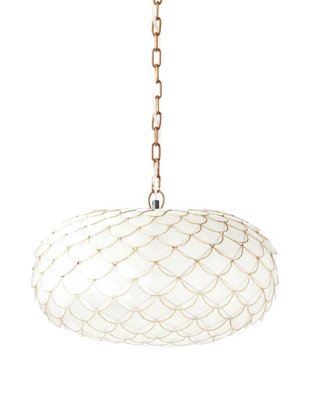 Capiz Scalloped Chandeliercapiz Chandelier Serena And Lily 298 00