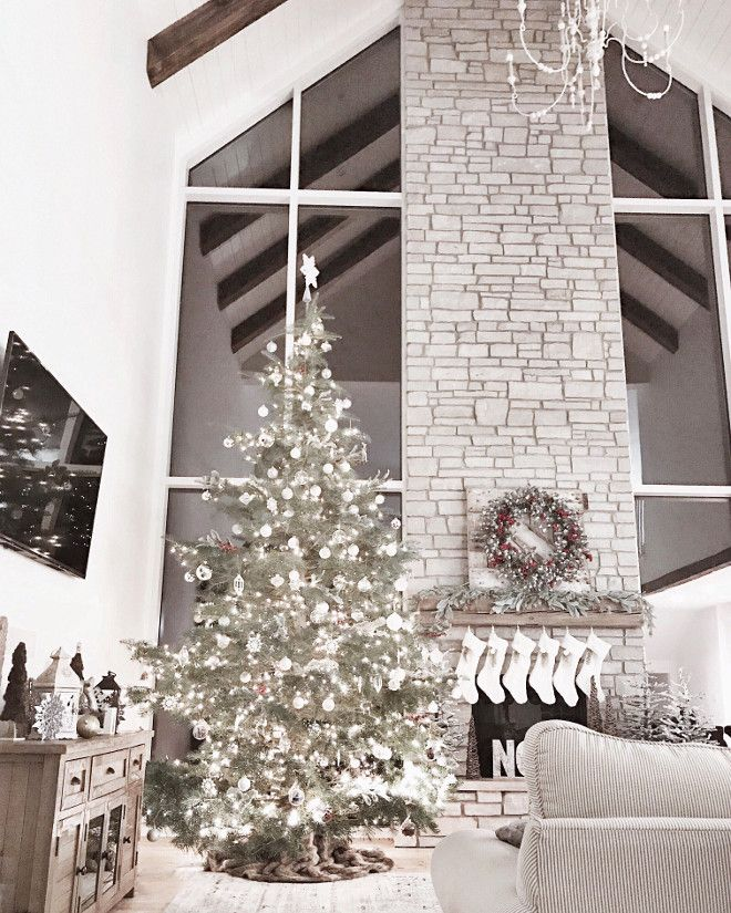 Super Tall Christmas Tree Will Go By The Blank Wall In The Corner In Living Room By Stair Case Tall Christmas