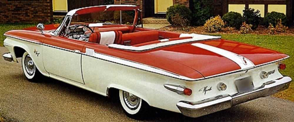 Plymouth Red And White Fury Convertible Classic Chrysler