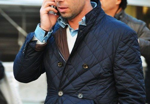 Men's Quilted Jacket   beautiful!