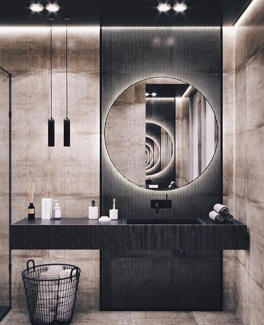 Luxury Buildings On Instagram Bathroom Goals Tag Your Friends Who Will Love This Design Restroom Design Beautiful Bathroom Designs Modern Bathroom Design Viral home designer bathroom design