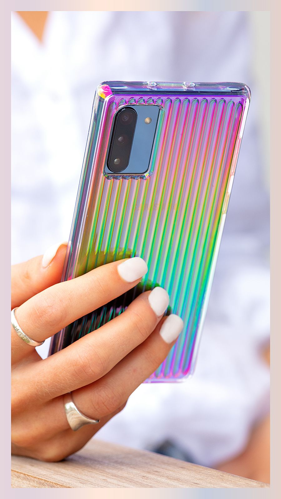 Tough Groove Iridescent Note 10 Note 10 Phone Cases Samsung Galaxy Galaxy Note 10 Samsung Phone