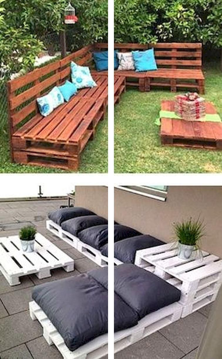 Where To Get Pallets For Furniture Easy Pallet Sofa How To