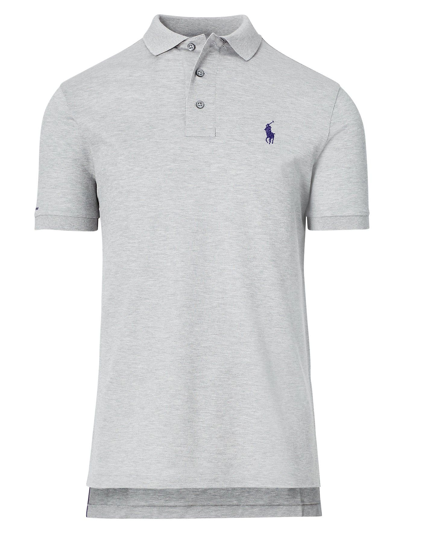 Ralph Lauren Purple Label Custom Fit Pique Polo Shirt Ralphlauren
