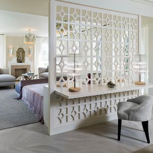 Lattice Room Divider Did Something Like This Between Kitchen And Lr Different Pattern Very