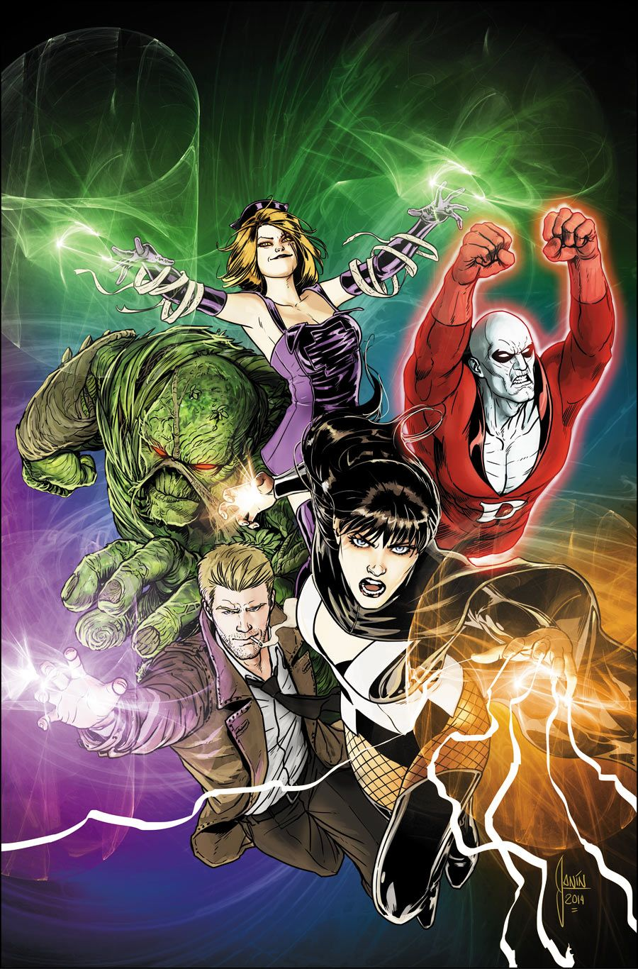 Justice League Dark by Mikel Janin