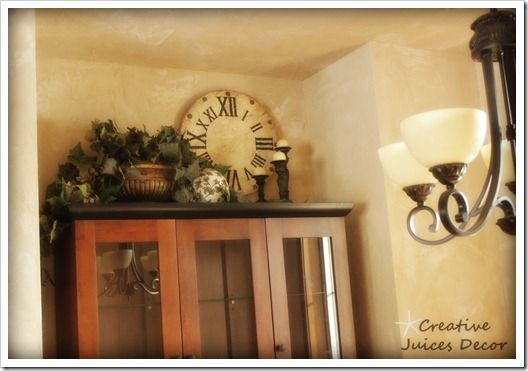 creative juices decor decorating the top of your kitchen cabinets a few tips and - Decorations On Top Of Kitchen Cabinets