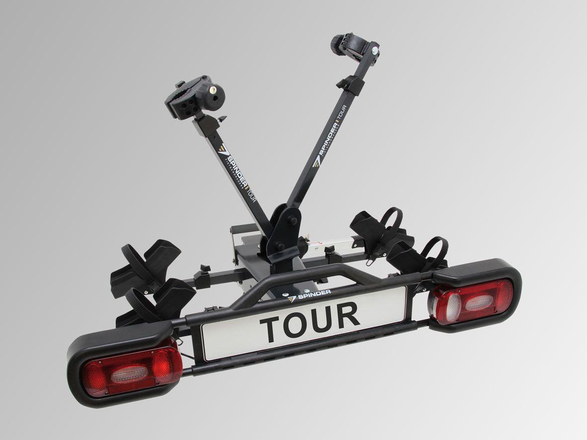SPINDER Fahrradträger TOUR mit ausziehbarer Lichtleiste - max ...