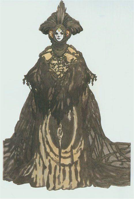 Black Dress Concept Art