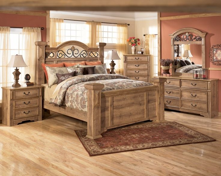 wrought iron and wood bedroom sets | Wood and Iron Bedroom Set ...
