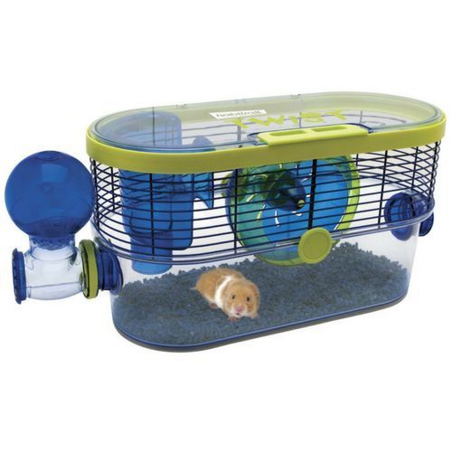 Hamster Cage Home Toy Bridge Swing Pet Small Animal Rodents Rat Mouse Cool Hamster Cages Small Animal Cage Hamster Cages