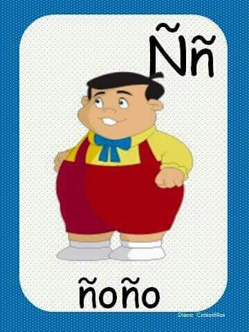 Ñ abecedario Alfabeto preescolar Abecedario Abecedario para niños