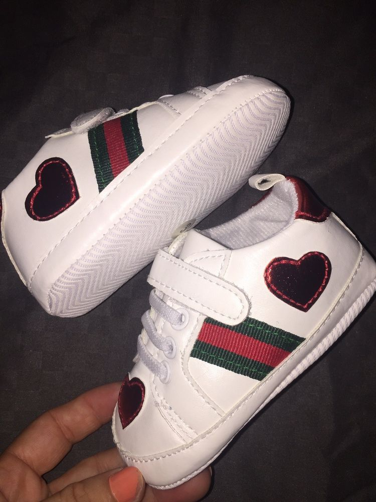448d984e2ac Gucci Baby Infant Soft Bottom Crib Shoes 6-9 Months  fashion  clothing   shoes  accessories  babytoddlerclothing  babyshoes (ebay link)