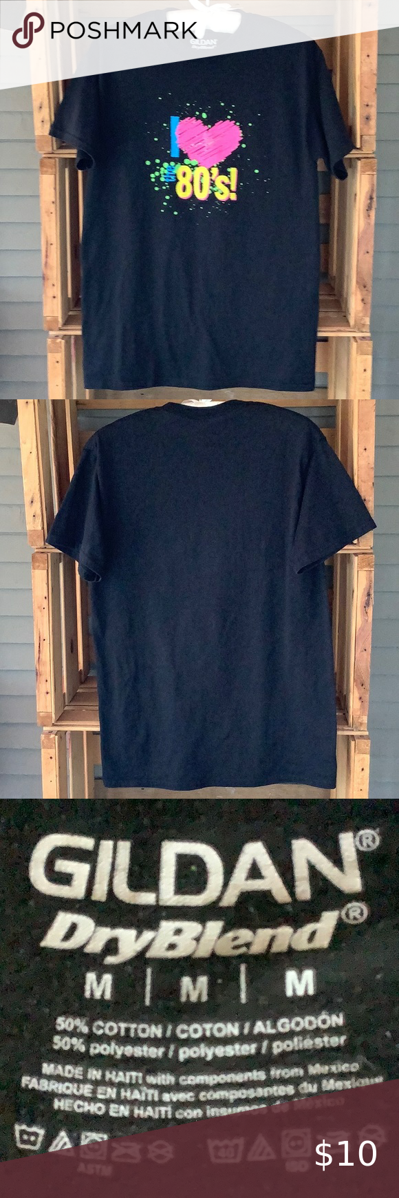 Check out this listing I just found on Poshmark: I Love the 80's T-Shirt M. #shopmycloset #poshmark #shopping #style #pinitforlater #Gildan #Other