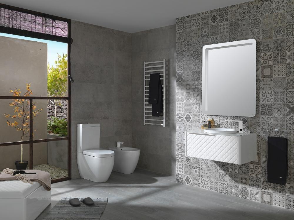 the radiators and towel radiators by noken porcelanosa bathrooms are one - Noken Porcelanosa