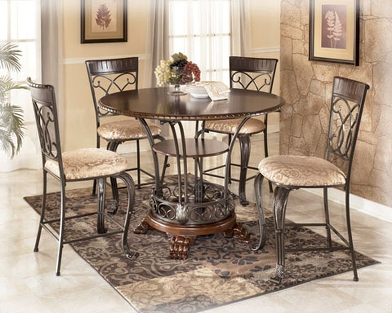Alyssa Counter Height Table & Side Bar Set Signature Design by
