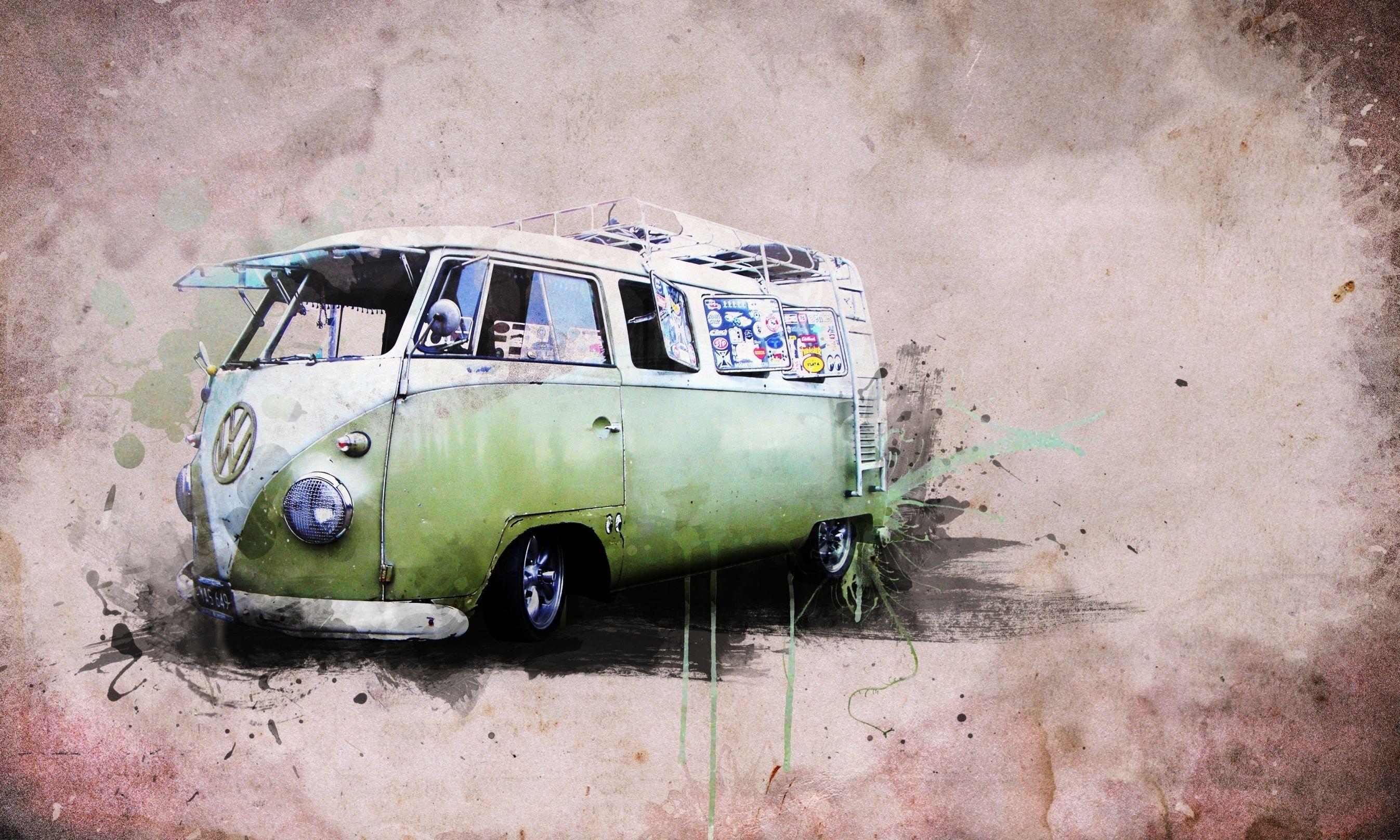 Style Creativity Creative Hippies The Van Volkswagen Transporter 1