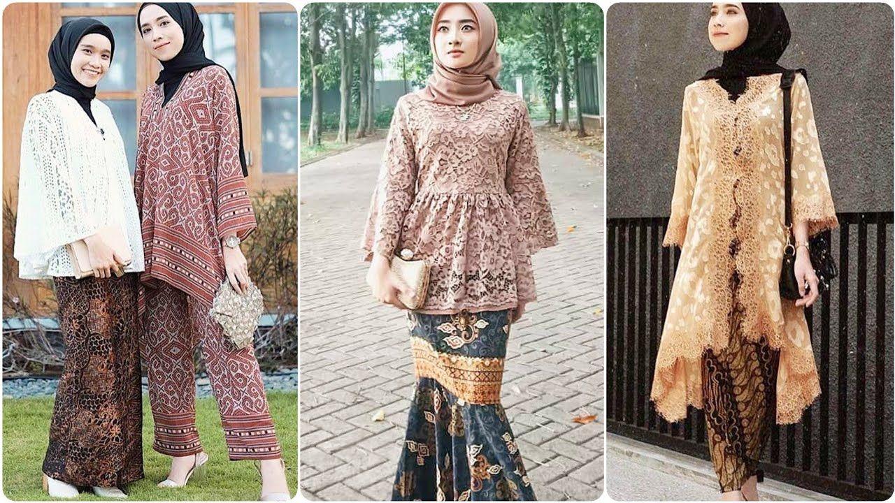Stylish Indonesian Dresses Design With Simple Hijab Styles KEBAYA