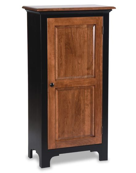 Amish Fresno Jelly Cabinet.... I Like But Paint Door Black As Well.