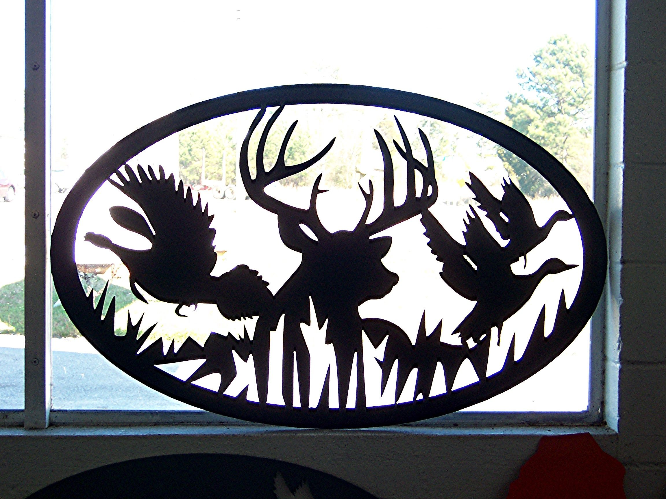 Custom Metal Art Wildlife Jpg 2304 215 1728 Silhouette