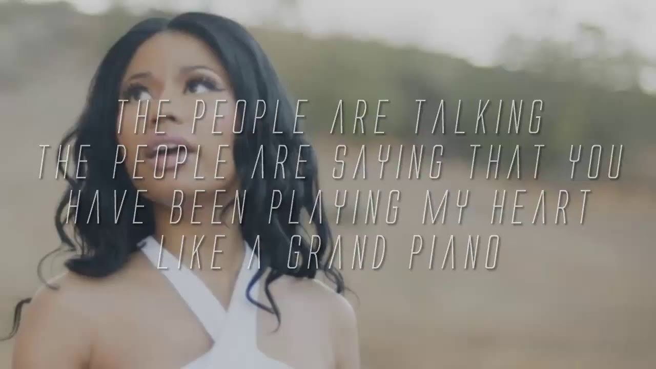 Nicki Minaj Grand Piano Lyrics Nicki Minaj Lyrics Youtube