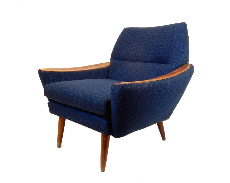 Best Mid Century Modern Blue Accent Chair Danish Modern Chair 400 x 300