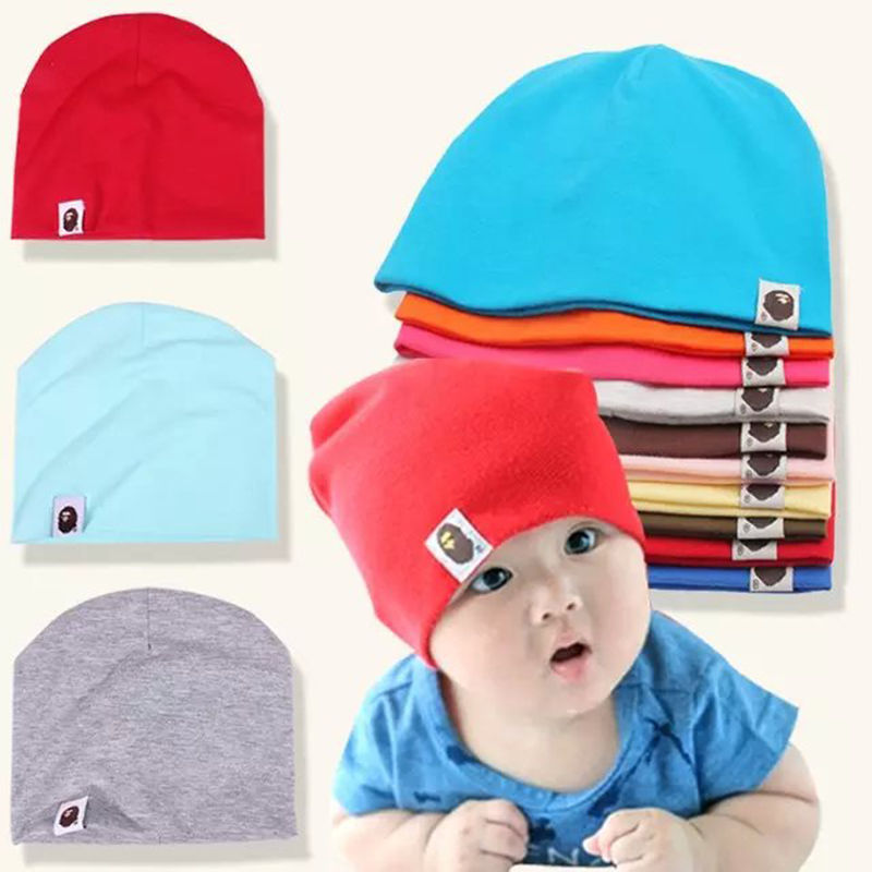 5c04b7373 1.49AUD - Fashion Cotton Beanie For Born Baby Boy Girl Kids Children ...