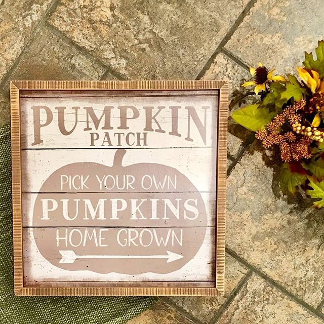 Annnnnd back to fall decor! Don't you just love this