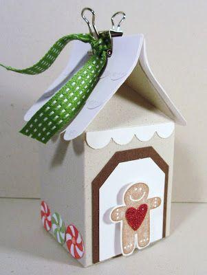 Sincerely, Babette: Christmas, sizzix mini milk die...