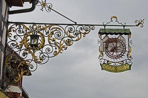 Glottertal 05 insegne pinterest panneau for Targhe decorative in legno