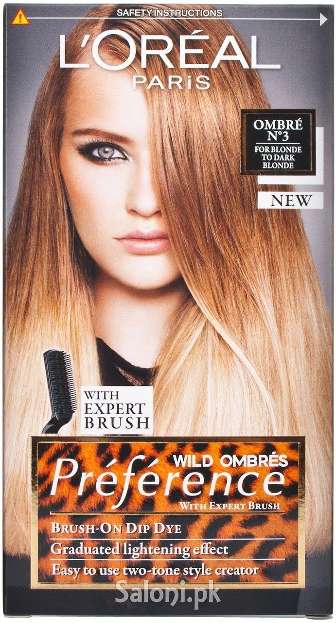 Loreal Paris Preference Wild Ombres N3 Saloni Health Hair Color