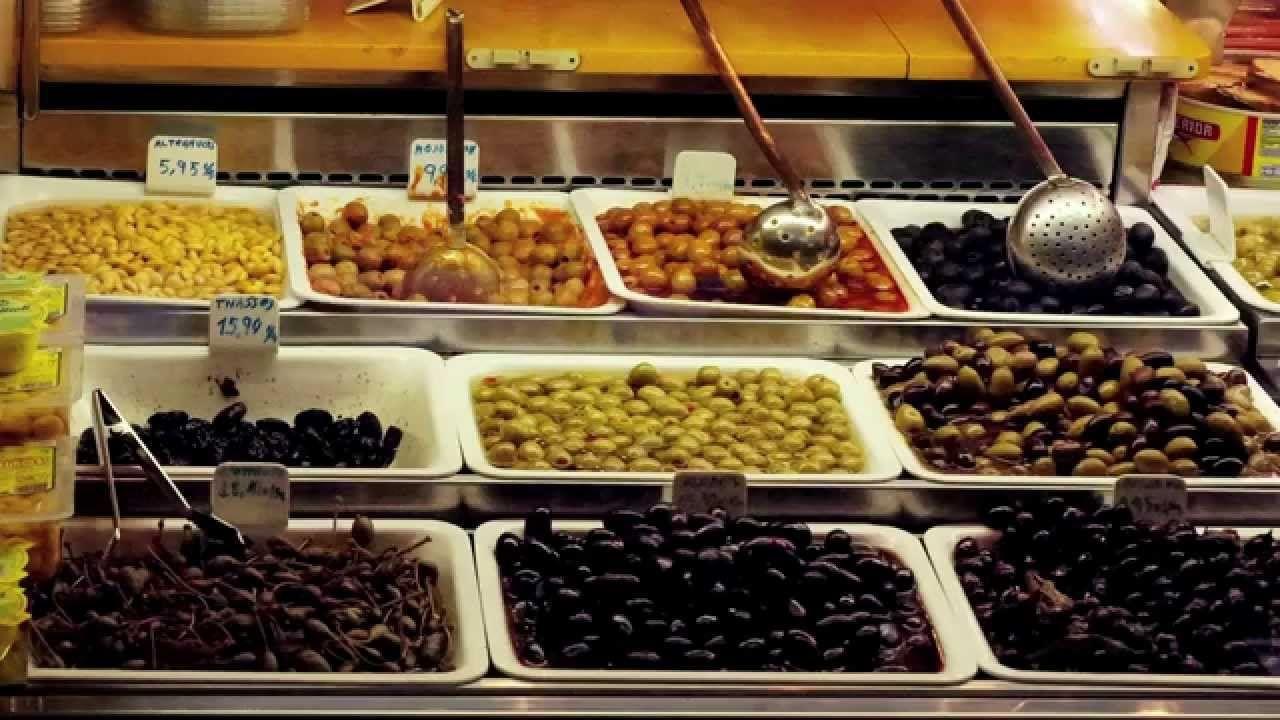 La Boqueria Market in Barcelona Part 2 Chocolate, Candy