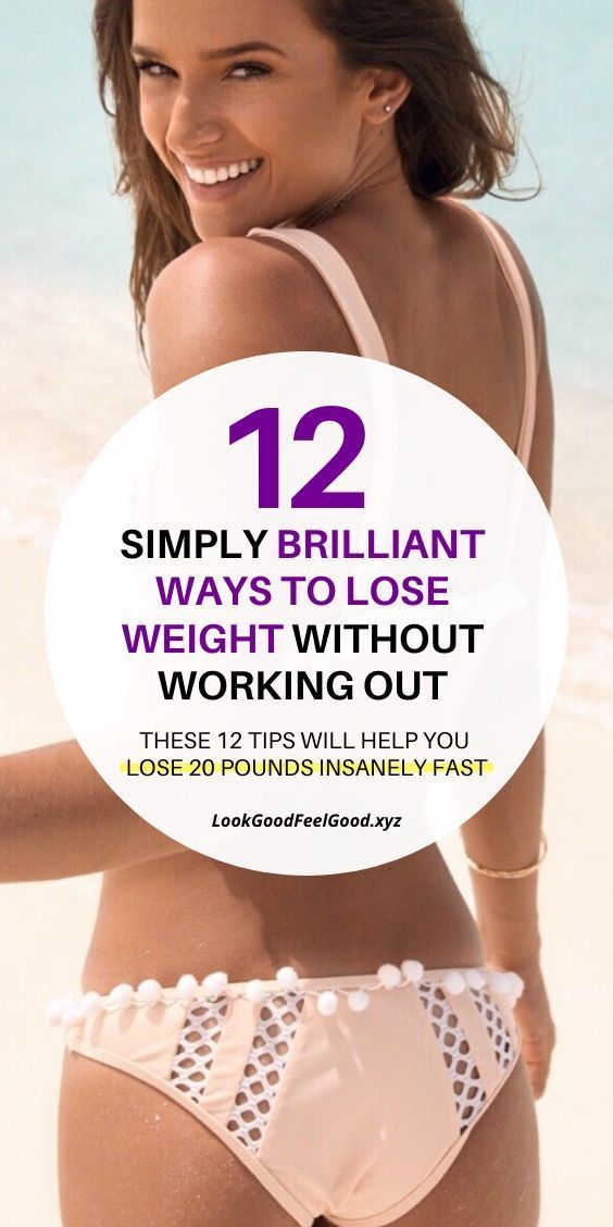 12 simply brilliant ways to lose weight without working out | healthy weight loss for women | weight...