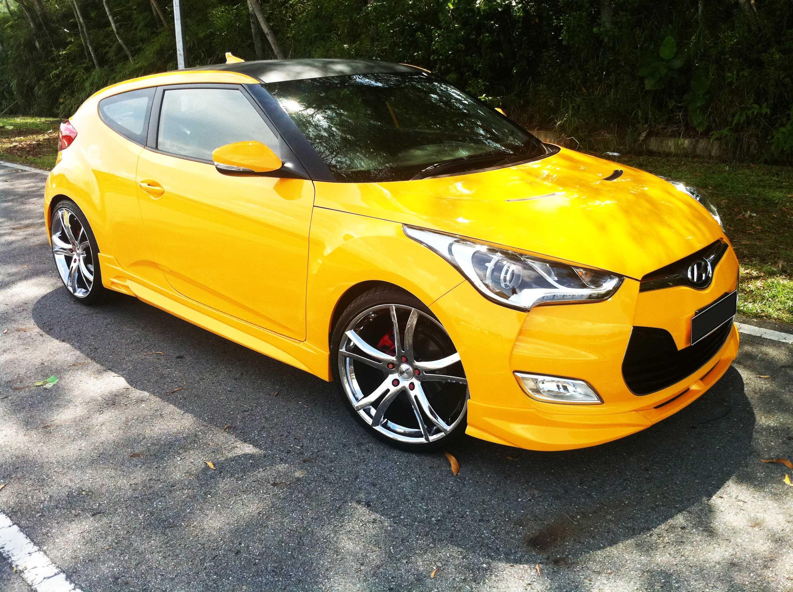 Yellow Hyundai Veloster 138 hp | Yellow Hyundai | Pinterest ...