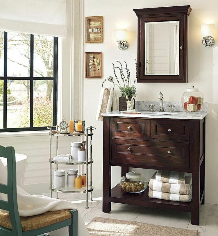 Meuble vasque salle de bain petit espace en 55 id es - Idee deco salle de bain petit espace ...