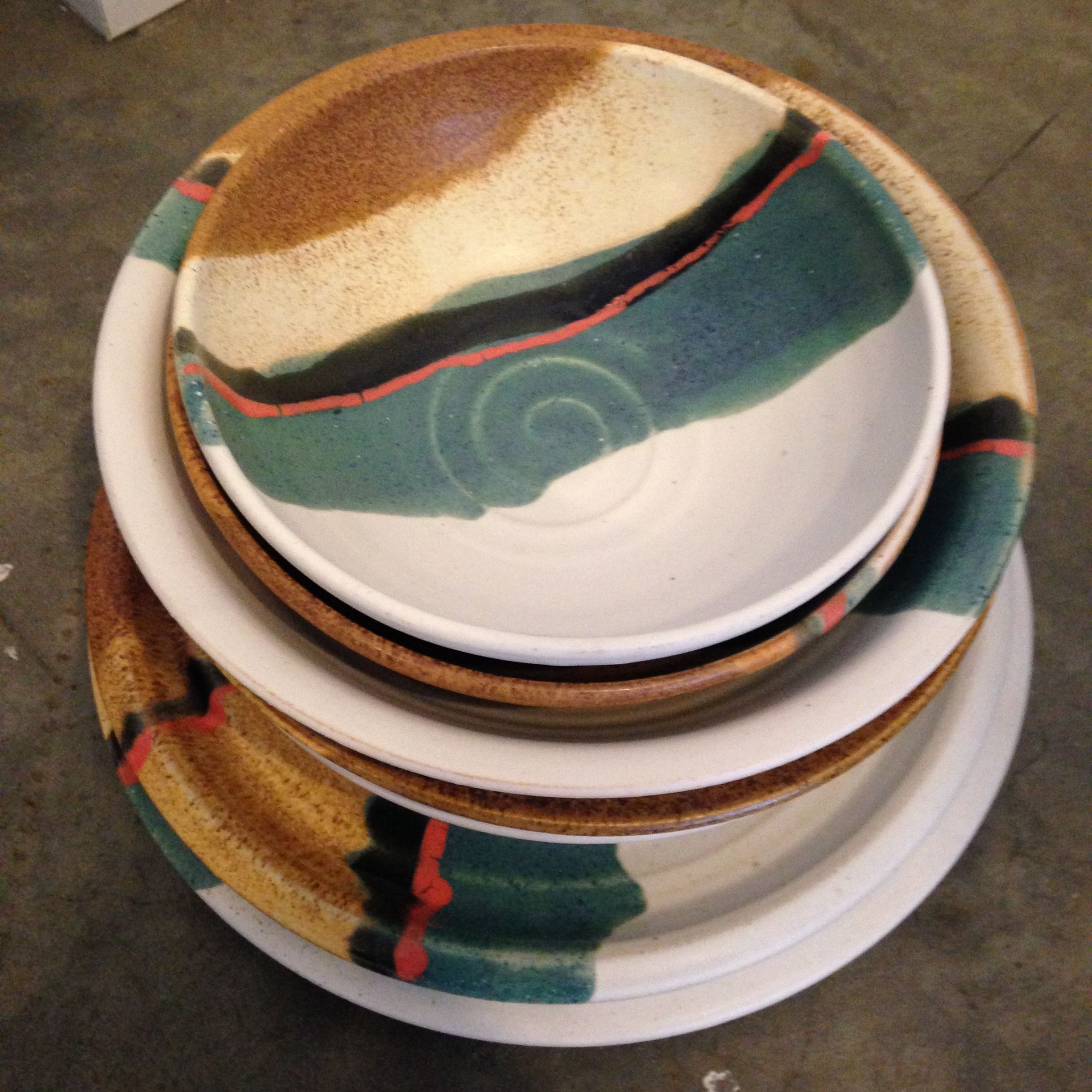 My Williamsburg Holiday Hit List Mociun where I found this amazing handcrafted dinnerware set by ceramist Robert Blue. & woven art rwanda - Google Search | RWANDA | Pinterest